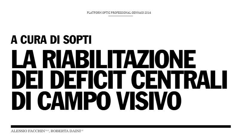 Deficit campo visivo