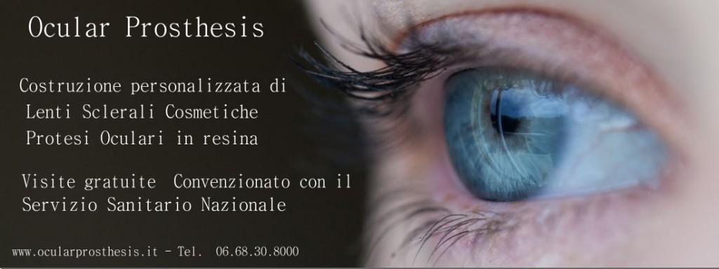 Protesi oculari in resina